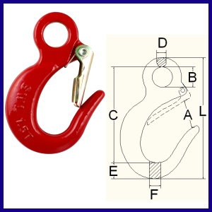8-01S-07 Eye Small Sling Hook