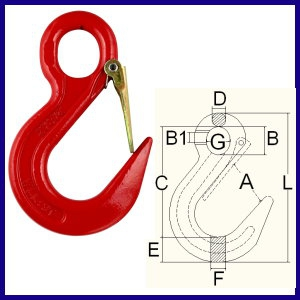 8-02S Safety Sling Hook