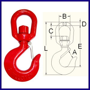 6-09 A320 Swivel hook