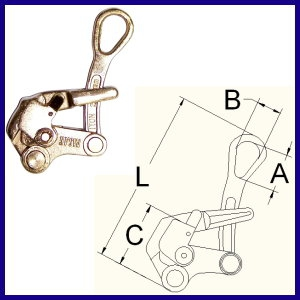 SD- Wire Rope Clip With Latch
