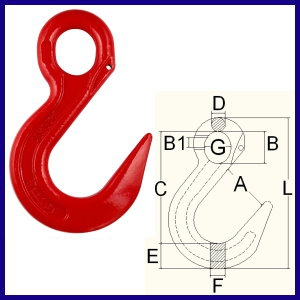 8-02 Safety Sling Hook